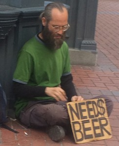 needs beer in Portland