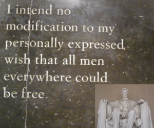 Lincoln - freedom