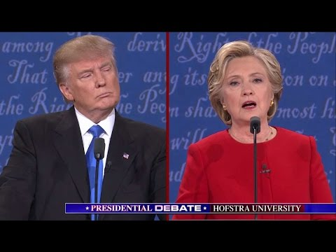 Notes on the First Presidential Debate