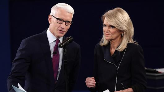 Anderson Cooper and Martha Raddatz