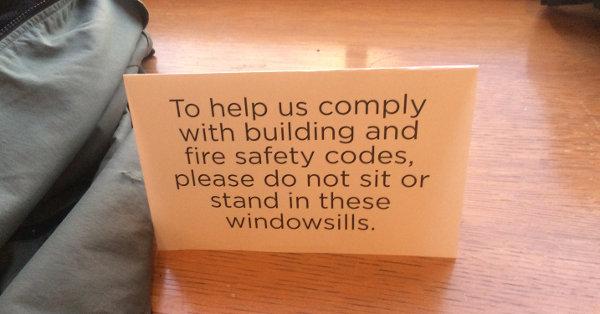 window sign