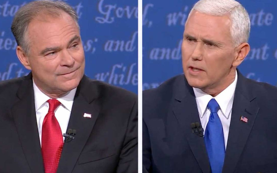 Notes on the Vice Presidential Debate