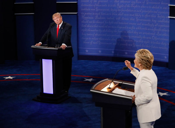 Notes and Thoughts on the Third Presidential Debate