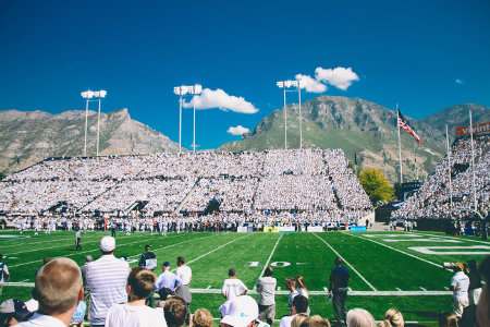 Lavell Edwards Stadium at BYU