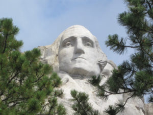 Washington at Mount Rushmore