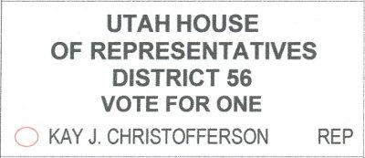 2018 ballot - utah legislature
