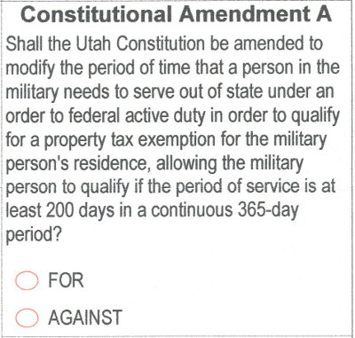 2018 ballot - amendment a