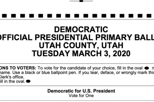 democratic presidential primary