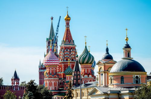 ten commandments - St. Basil's Cathedral