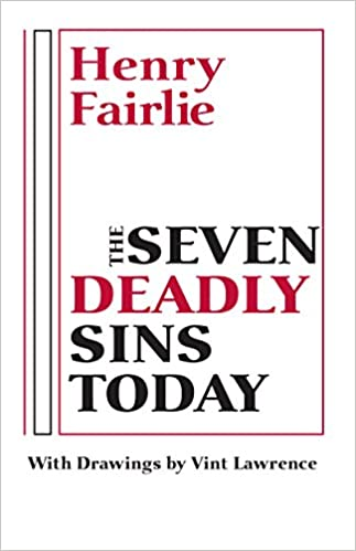 Henry Fairlie, Seven Deadly Sins Today