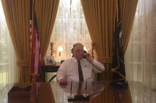 David in the Oval Office