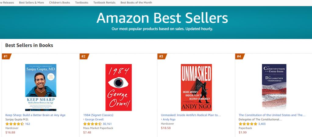 silver-linings-Amazon-bestsellers